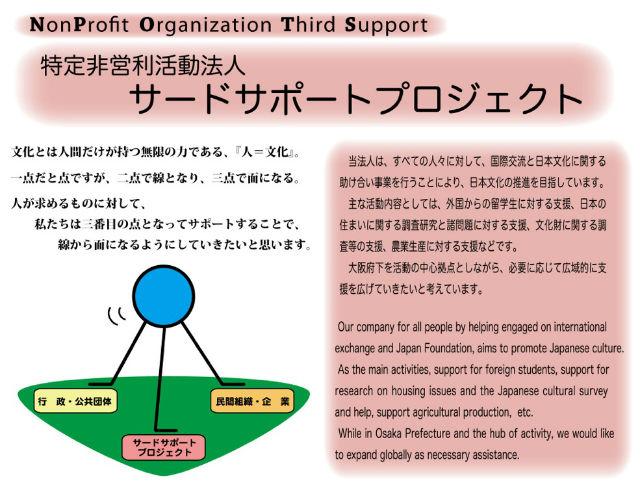 特定非営利活動法人サードサポートプロジェクトの写真